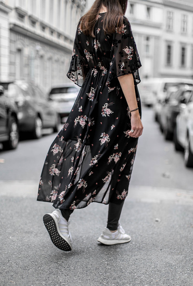 worry about it later zara maxidress flowers for fall winter