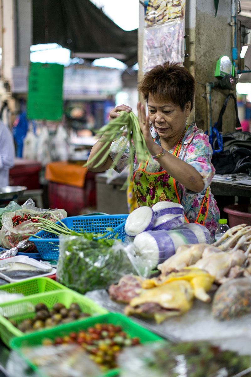 markt bangkok thailand worry about it later