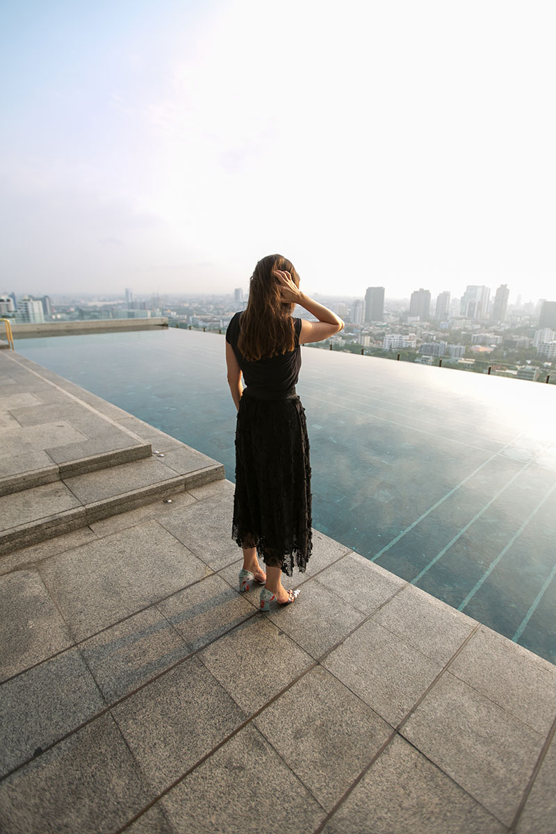 rooftop pool bangkok worry about it later