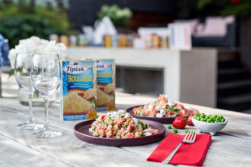 bulgur salat erdbeere melone tipiak couscous bulgur quinoa worry about it later